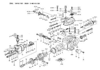 Bosch 9461615298 Fulcrum Lever