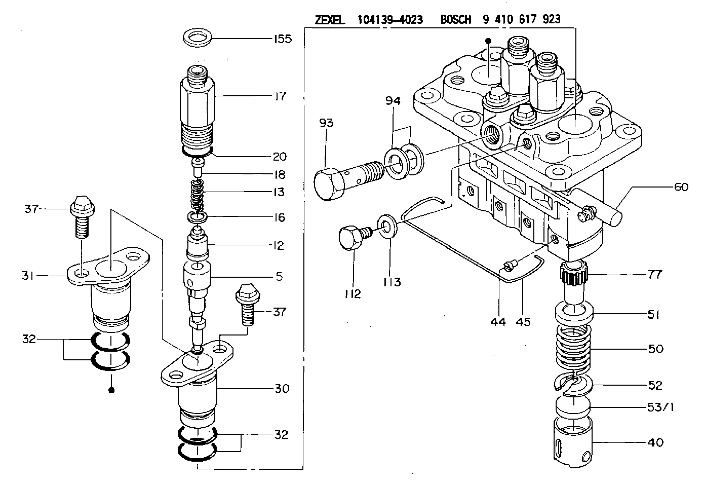 Bosch pfr injection pump service manual