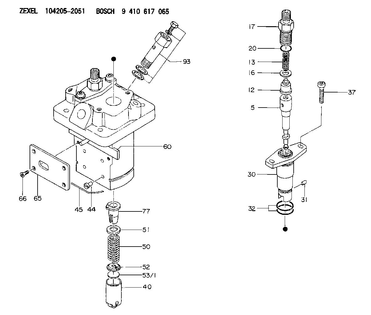 Zexel Injection Pump Wiring Diagram Wiring Diagram – Injection Pump Wiring Diagram