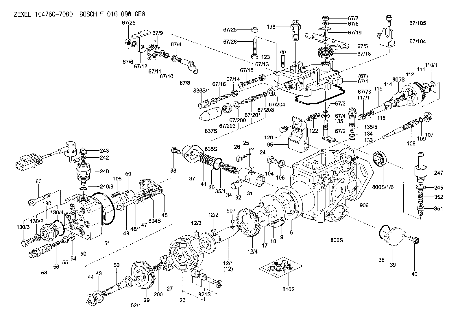 6 5 diesel injection pump diagram