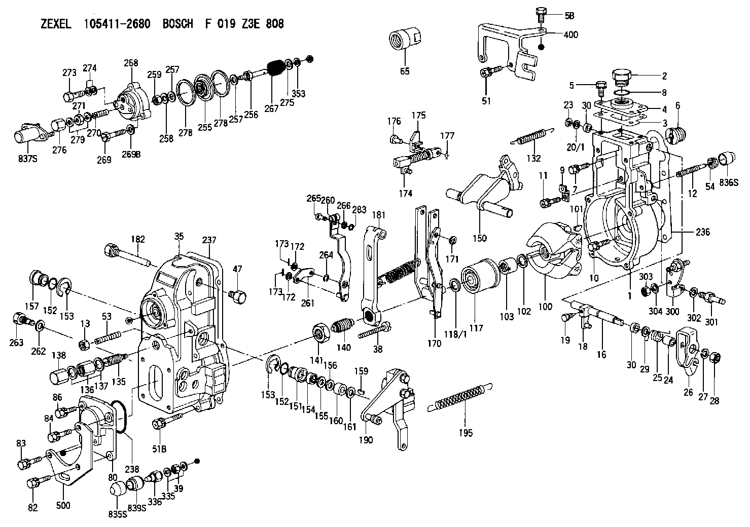 Vp44 Injection Pump And Lines Diagrams Competition Dieselcom
