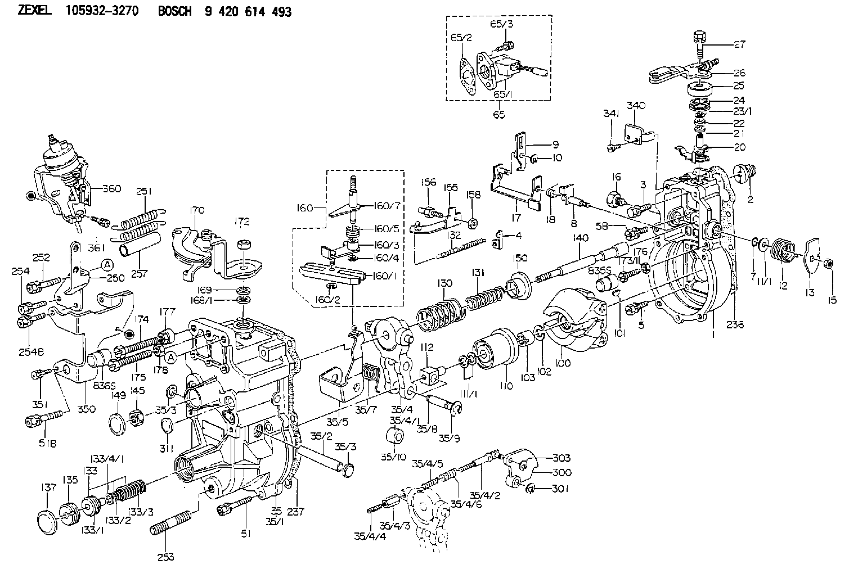 8971315120 isuzu rack sensor assy