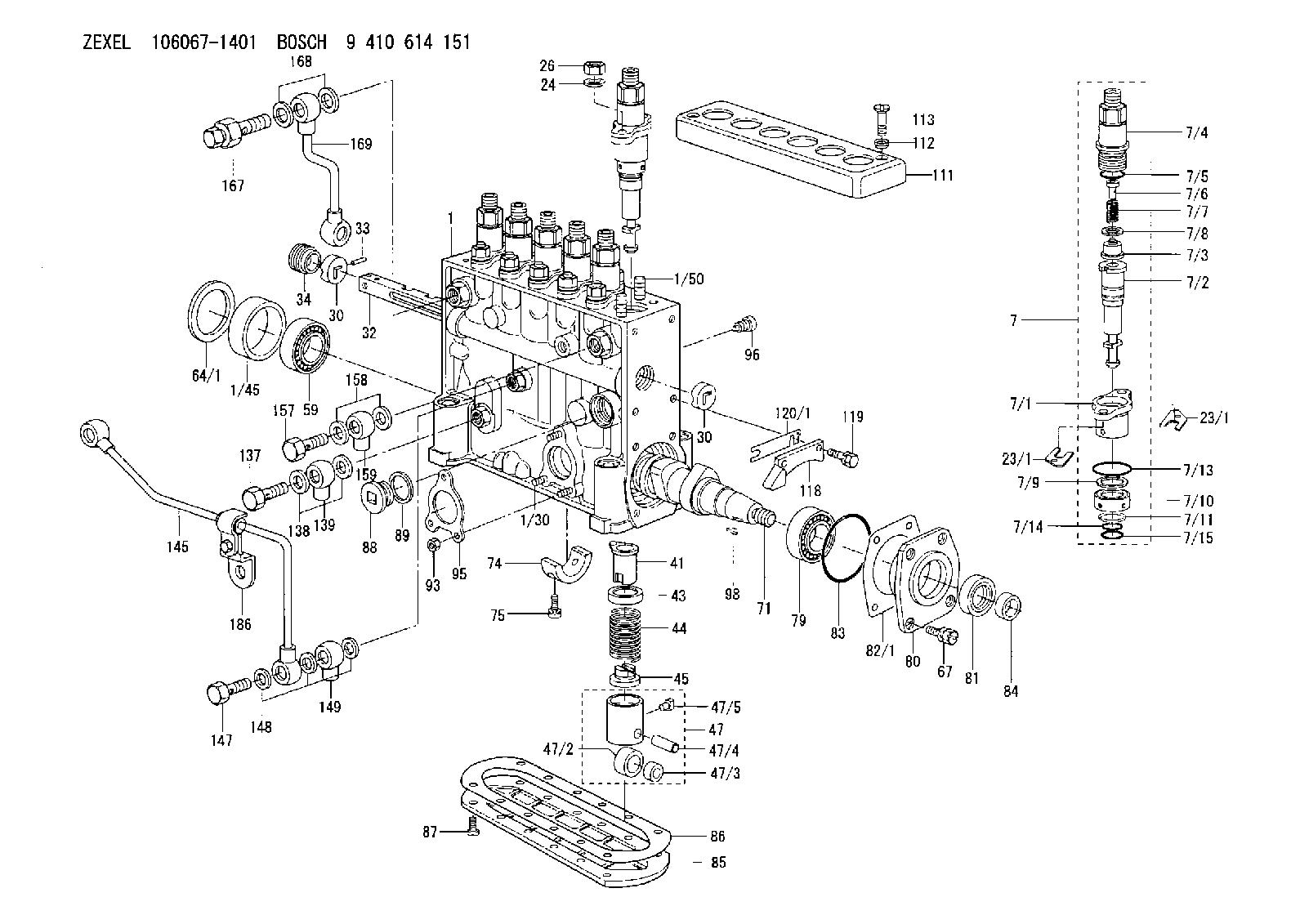 Zexel Injection Pump Wiring Diagram  P7100 Pump Diagram, 2003