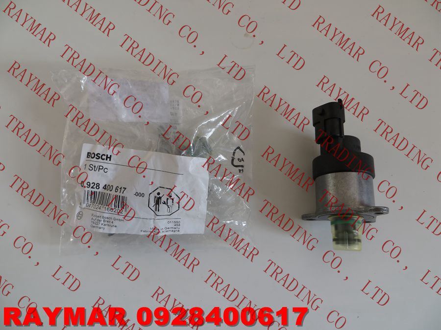 GENUINE Common rail fuel pump pressure regulator 0928400617, 0928400627