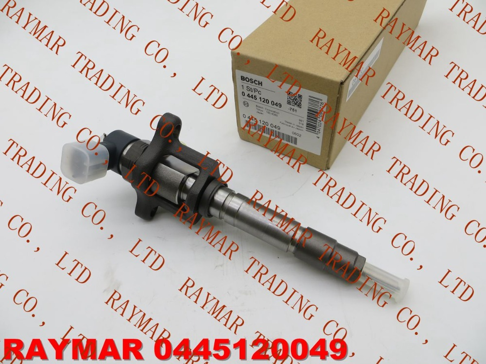 GENUINE Common rail fuel injector 0445120049 for MITSUBISHI Canter 4M50 4.9 ME223750, ME223002