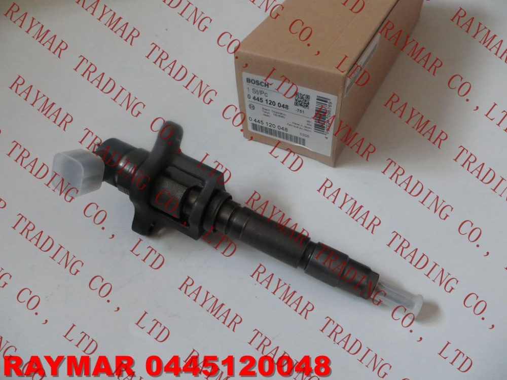 GENUINE Common rail fuel injector 0445120048 for MITSUBISHI FUSO 4M50 ME222914