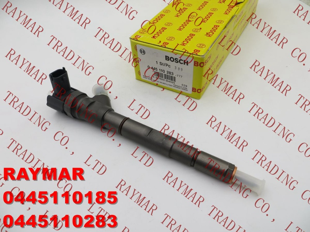 GENUINE Common rail injector 0445110185, 0445110283 for Hyundai 33800-4A300, 33800-4A350