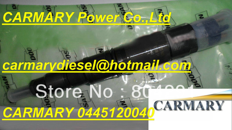 Brand New common rail injector 0445120040 for 65.10401-7001C / 0445 120 040/ 0 445 120 040