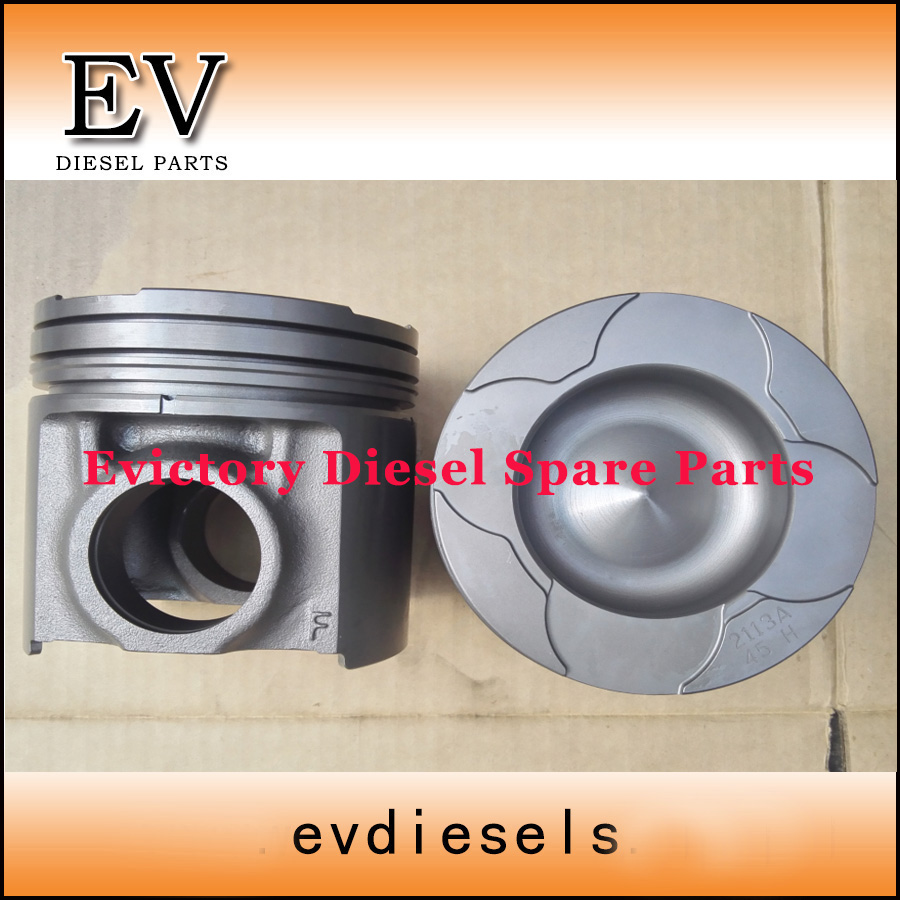 For Komatsu PC400 Excavator 6D125 S6D125 SAA6D125E piston 6151-31-2710 include piston pin and clip