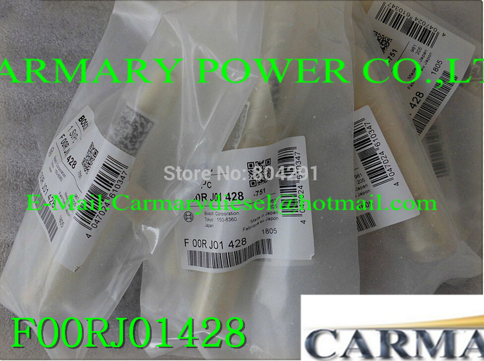 F00RJ01428 Common rail injector valve F00RJ01428 / F 00R J01 428 for 0445120048, 0445120049, 0445120090