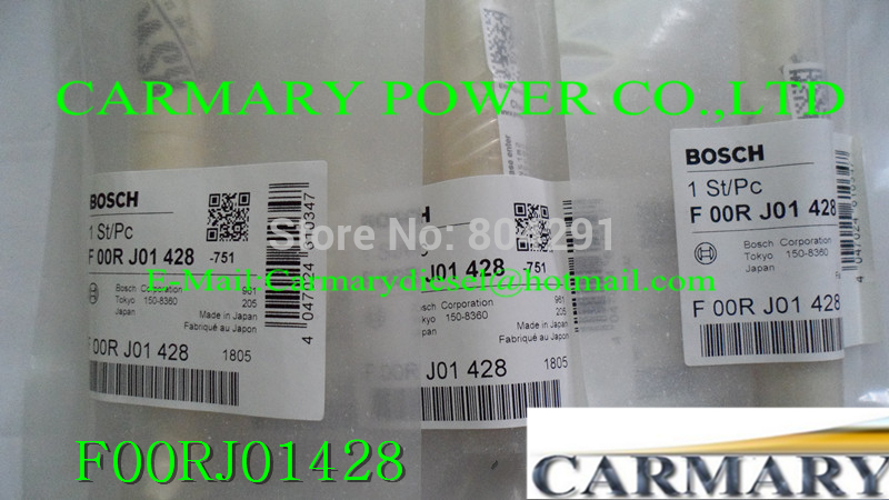 New Original F00RJ01428 Common rail injector valve F00RJ01428 / F 00R J01 428 for 0445120048, 0445120049, 0445120090