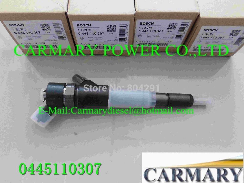 100% Genuine New original common rail injector 0445110307 6271-11-3100 suit kom /atsu PC70-8