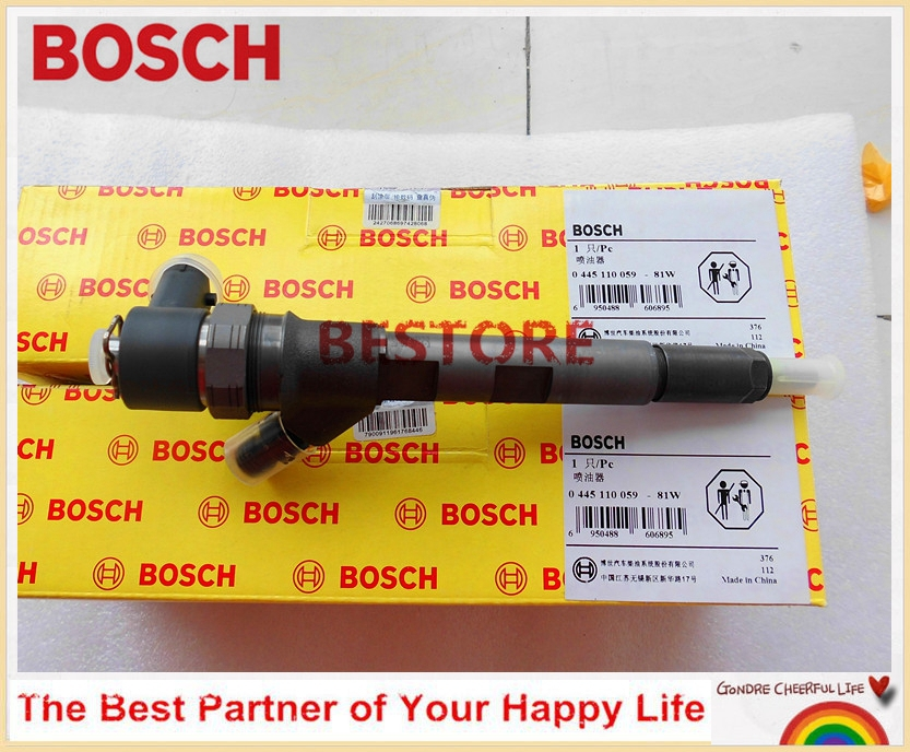 Common rail injector 0445110059 for CHRYSLER 05066820AA / 5066820AA