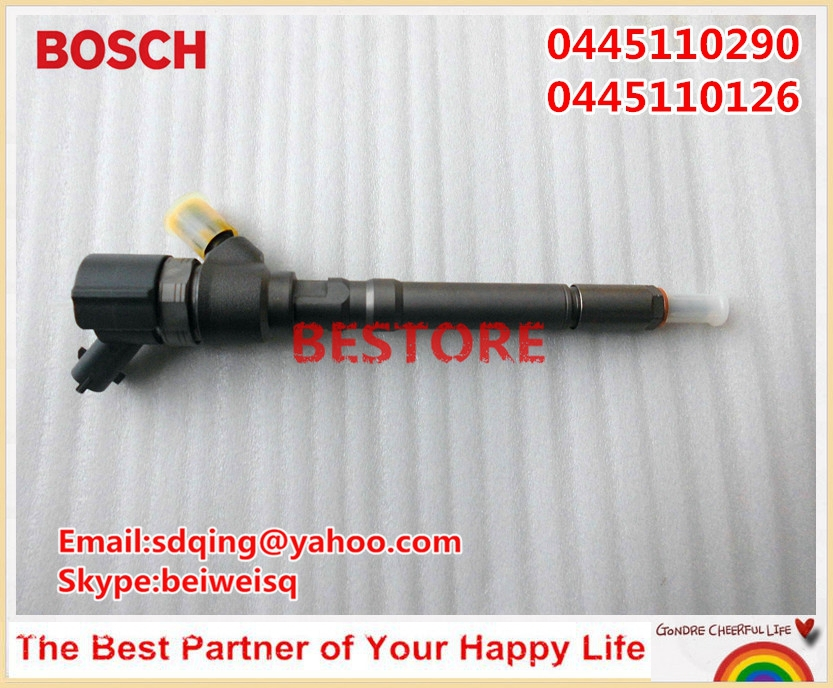 Genuine and New common rail injector 0445110290 / 0445110126 for 33800-27900, 33800-27900X/Y/Z IN STOCK