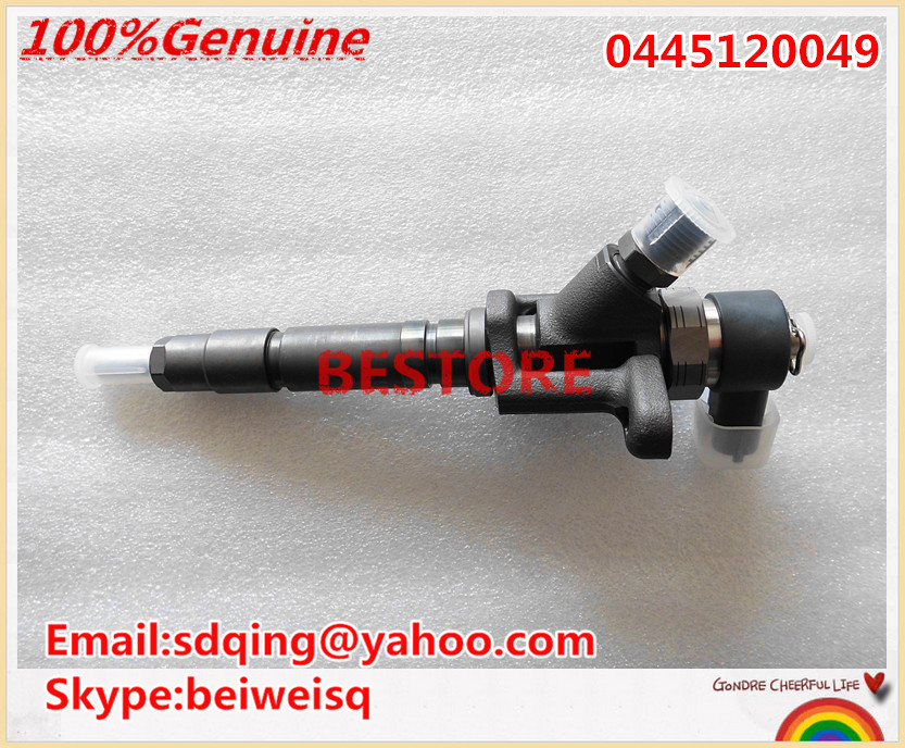 Genuine and New common rail injector 0445120049 for M I T S U B I S H I ME223750 ME223002 in stock !