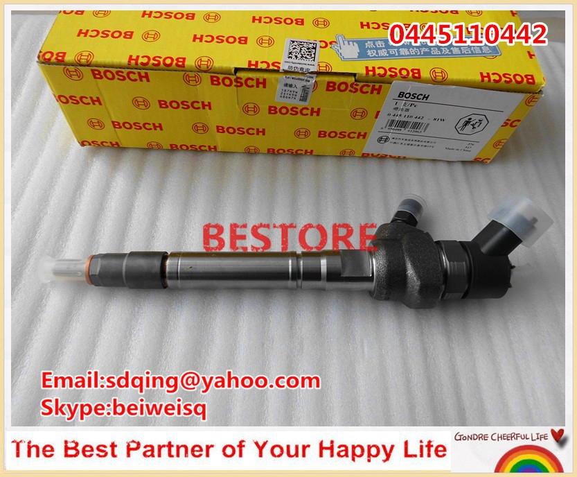 Genuine Common rail injector 0445110442 / 0445110443 for Great wall Hover