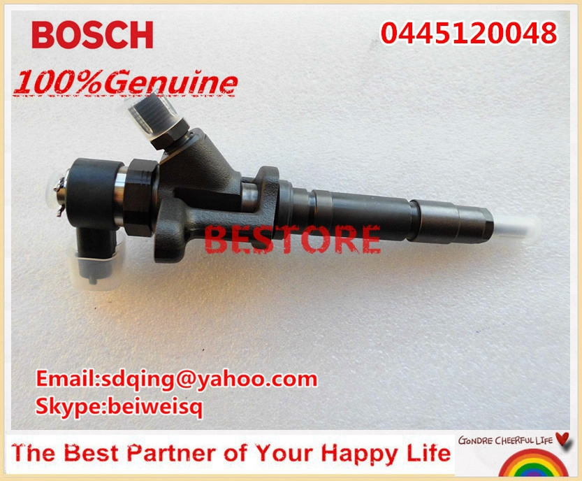 Original Genuine and New Common rail injector 0445120048 for 4M50 ME222914
