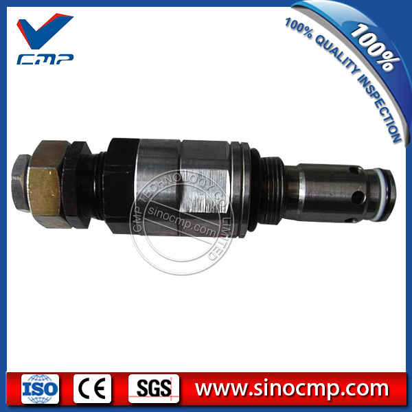 PC200-6 6D102 Excavator Main Relief Valve for Hydraulic Parts