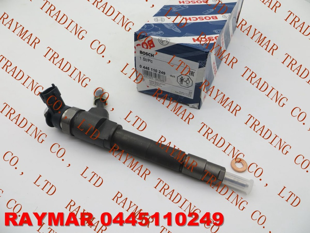 B/OSCH Genuine common rail fuel injector 0445110249 for MAZDA BT50 WE01-13-H50A, WE0113H50A