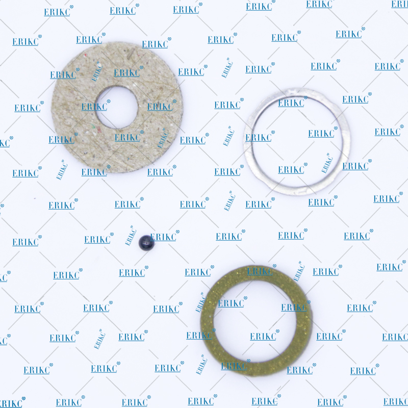 ERIKC diesel injector Black ball sealing rings, Ceramic ball repair kits for 110 injector F00VC99002,F00VC05009 diameter=1.50mm