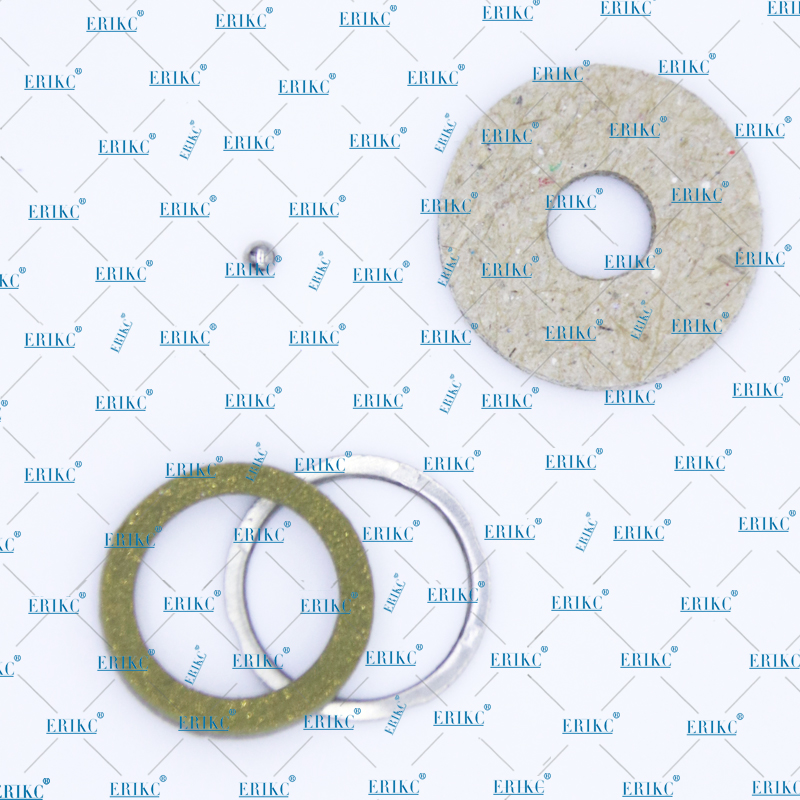 ERIKC F00VC99002 + F00VC05001 injector sealing rings common rail injectors steel ball kits