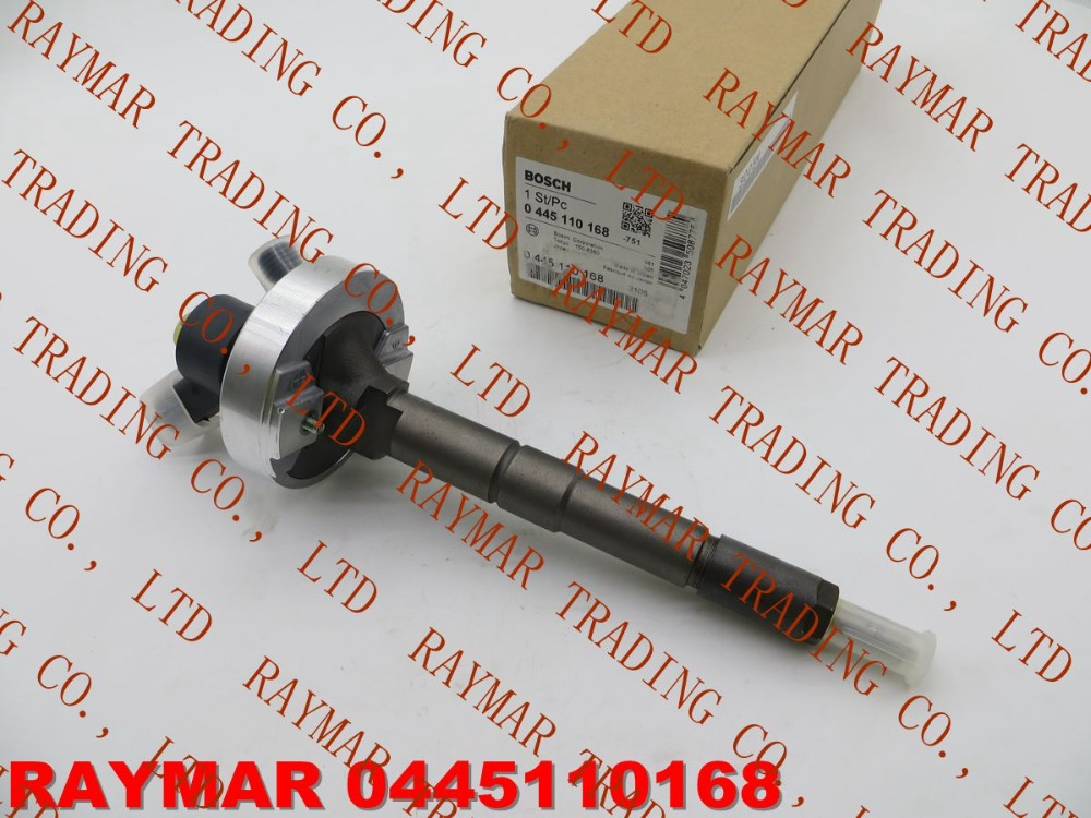 GENUINE Common rail fuel injector 0445110168, 0445110284 for N/ISSAN 16600-DB000, 16600-DB002, RENAULT 7701061083, 7485001660