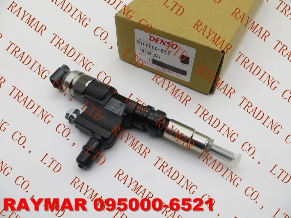 DENSO Genuine common rail fuel injector 095000-6520, 095000-6521 for HINO N04C 23670-E0090, 23670-E0091