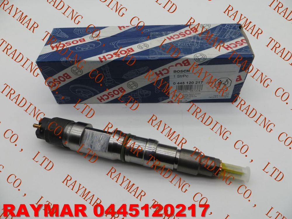 GENUINE Common rail fuel injector 0445120061, 0445120217, 0445120274 for MAN 51101006064, 51101006126, 51101006138