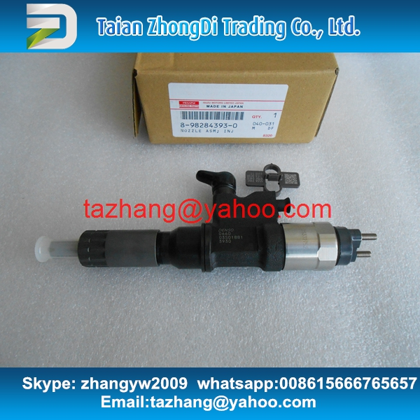 Genuine and new common rail injector 095000-0660 095000-890# / 095000-8903 / 095000-8900 for 8-98151837-3