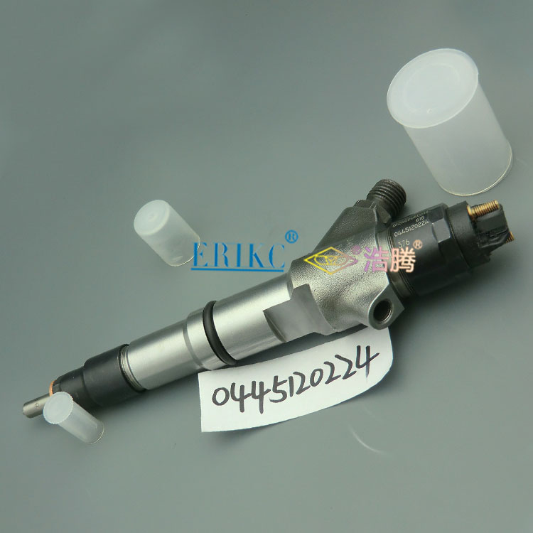 ERIKC 0445120224 auto engine injector assy,CRIN diesel complete injection nozzle set 0 445 120 224 WEICHAI 612600080618