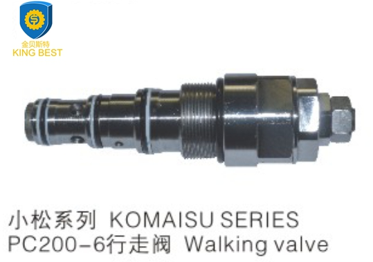 PC200-6 Excavator Walk Valve for komatsu Genuine parts 702-75-04101