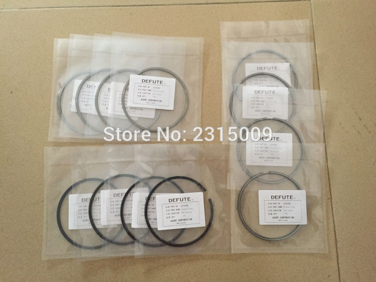 4TNV98 Piston ring Original quality goods quality is very good An engine using 12 packages