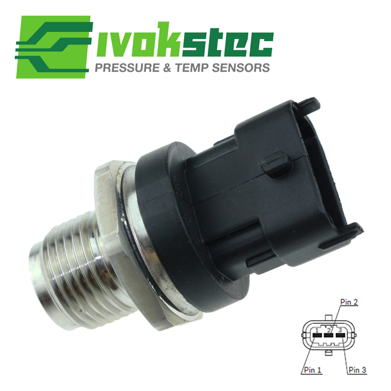 Auto Parts Diesel Fuel Rail Injection Pressure Sensor For Cumnins ISBe ISF ISLe QSL ISDe DAF Iveco 0281006325