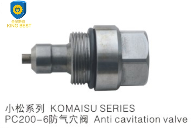 PC200-6 Excavator Anti Cavitation Valve for Kamatsu