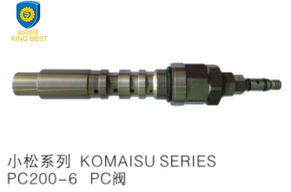 PC200-6 Excavator Hydraulic Parts PC Valve for Komatsu Genuine parts