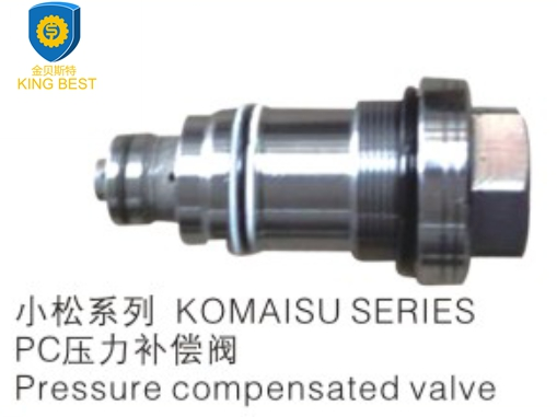 PC200-6 Excavator Pressure Compensated Valve for Komatsu Engine Parts