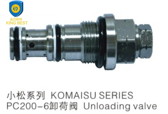 Valve assy unload 723-40-56302 for Komatsu PC200-6 excavator parts