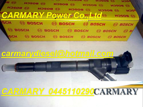 GENUINE Common rail injector 0445110290, 0445110126 for 33800-27900, 33800-27900X, 33800-27900Y, 33800-27900Z