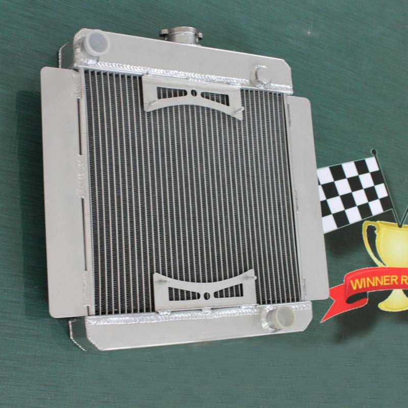 56MM ALUMINUM RADIATOR For FORD ESCORT MK1/MK2 PINTO/MEXICO RS2000 MT 1968-1981