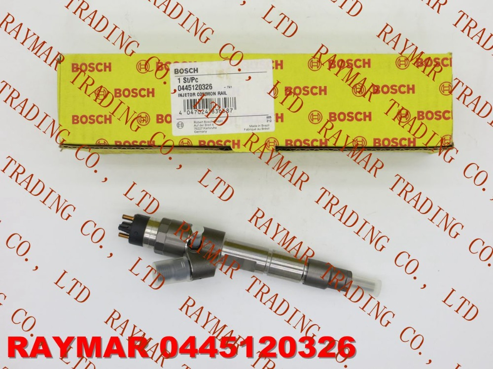 B/OSCH Common rail injector 0445120326, 0445120043 for MWM 961204640014, VW 2R0130201B