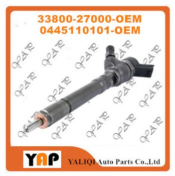 New Common rail injector Diesel vehicles (4) FIT FORHYUNDAI SantaFe 33800-27000 0445110101 2000-2014