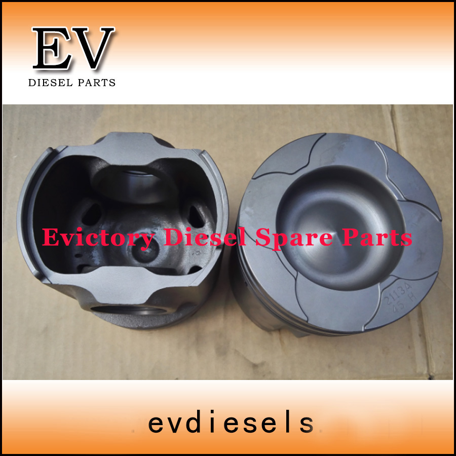 For Komatsu PC300 PC400 excavator 6D125 S6D125 SAA6D125E piston and piston ring set 6150-32-2030