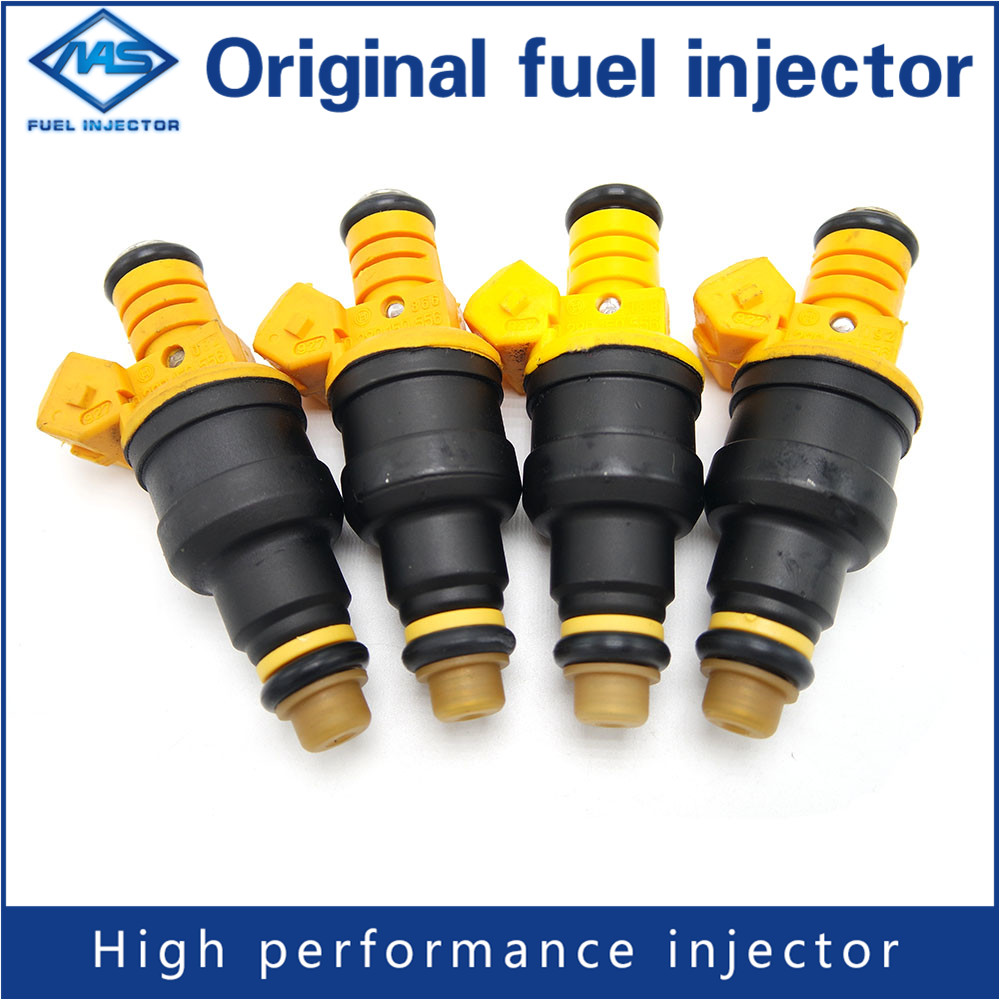 New Set(4) Fuel Injectors for Ford 4.6 5.0 5.4 5.8 Replaces 0280150943