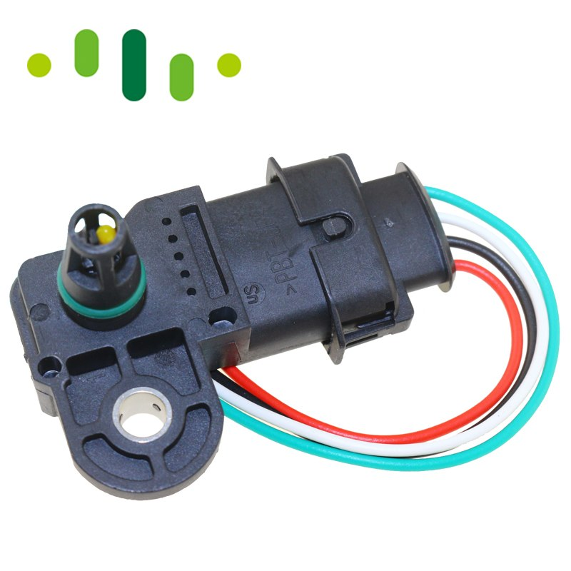 With Plug 3.5Bar 0281002456 0 281 002 456 0261230373 MAP Sensor Turbo Boost Air Pressure Sensor For Fiat Mercedes Nissan VW