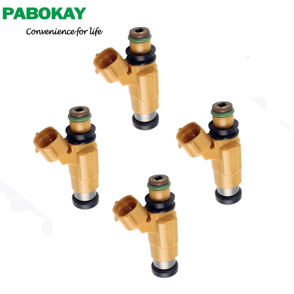 4 Pieces New Fuel Injector For Mitsubishi Galant MD319792 CDH275 For Yamaha outboards 150HPF200 F225 LF225 LF200 69J-13761-00-00
