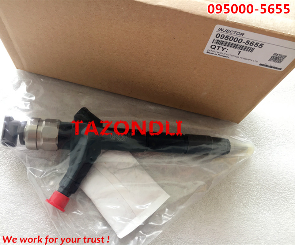 Original and new common rail injector 095000-5650,095000-5655 for YD25 2.5 16600-EB300/16600-EB30#