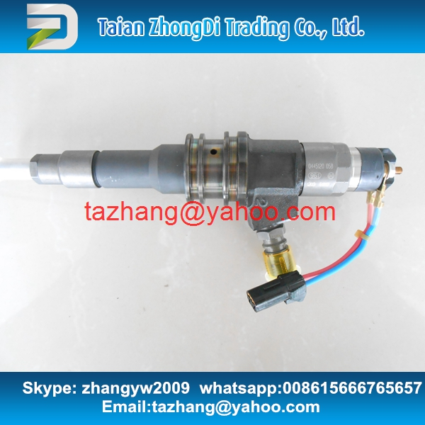 100% Genuine Common rail injector 0445120058 for ME355793