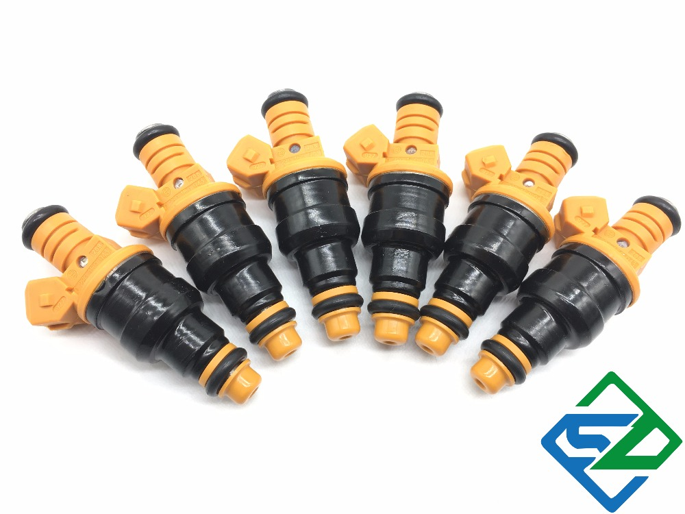 6pcs Fuel Injector Nozzle For Ford 4.6 5.0 5.4 5.8 0280150943 0 280 150 943