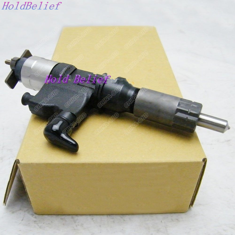 Orignal Fuel Injector 095000-6363 095000-6364 For Hitachi Excavator 4HK1 6HK1