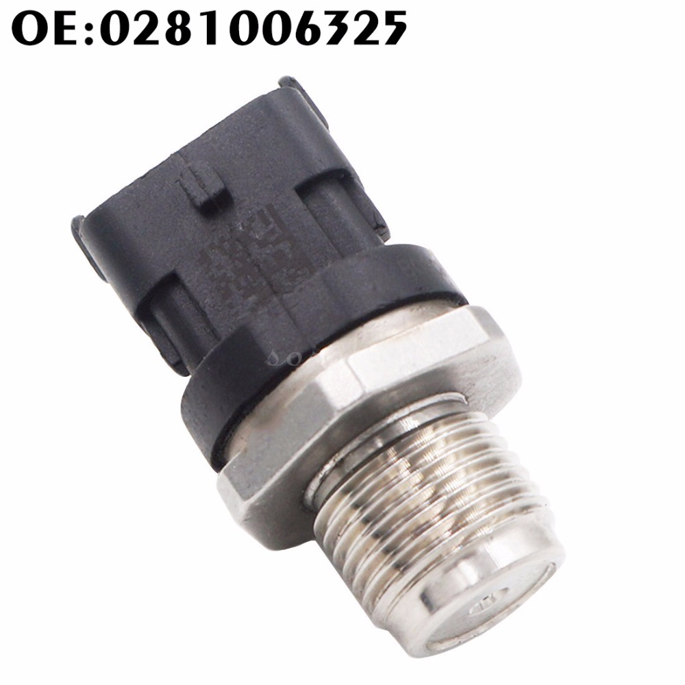 0281006325 1800 Bar Fuel Rail High Pressure Sensor Common Injection 0281006112 0281002846 0281002937 For Cummins IVECO DAF MAN